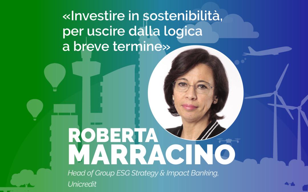 Roberta Marracino (UniCredit): «Investire in sostenibilità per uscire dalla logica a breve termine»
